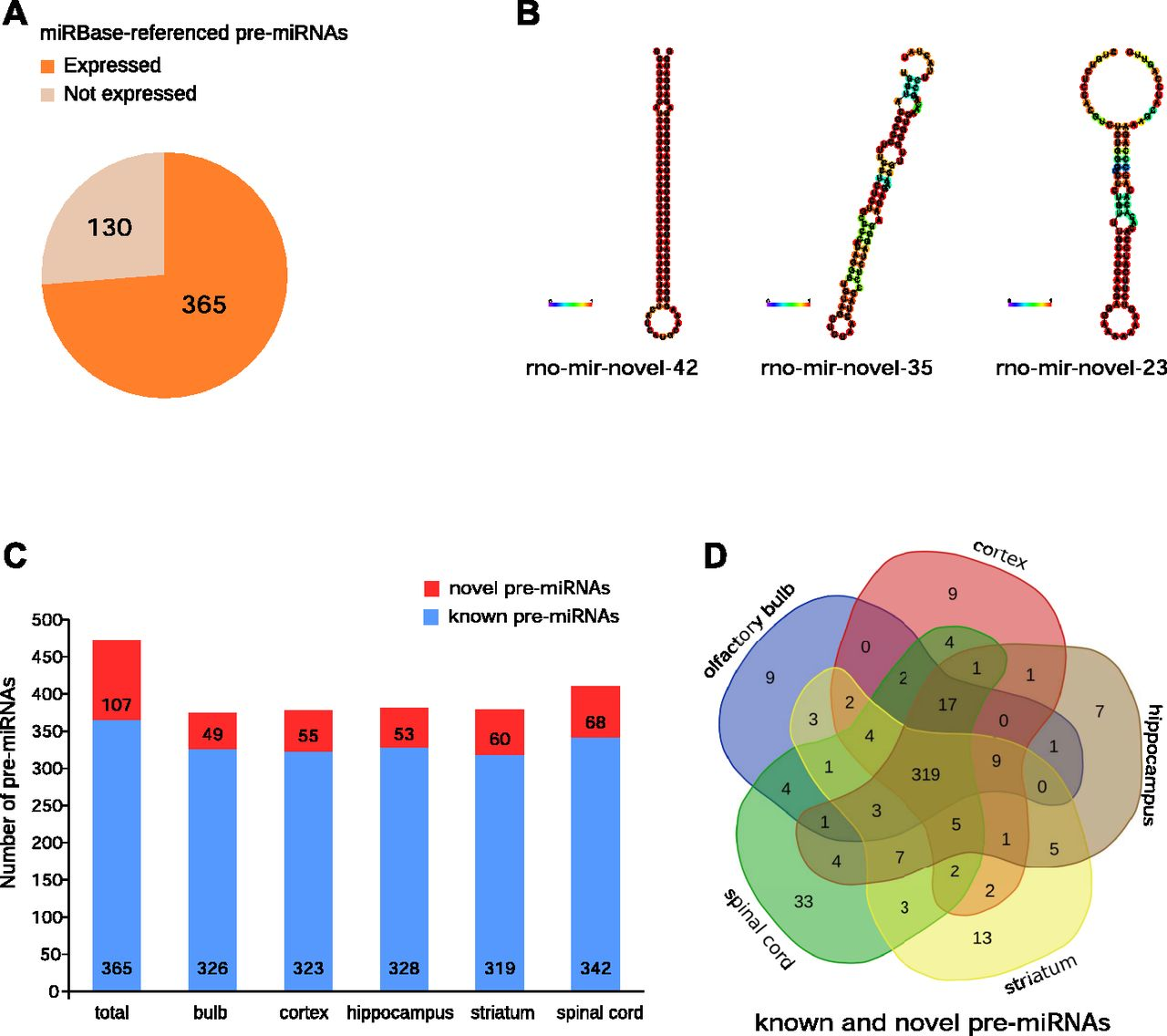 Small RNA-Seq Reveals Novel MiRNAs Shaping The
