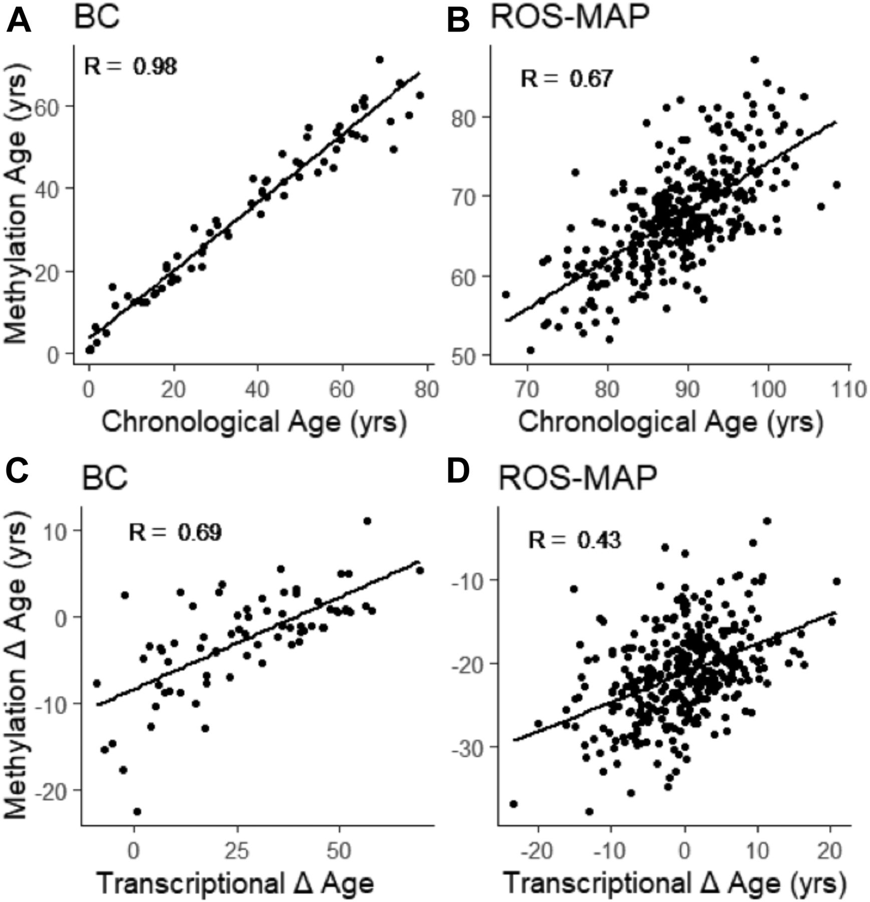Rate of brain aging and APOE ε4 are synergistic risk factors